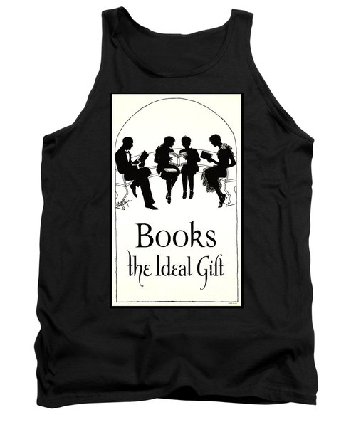 Tank Top featuring the photograph Gift Books 1920 by Padre Art