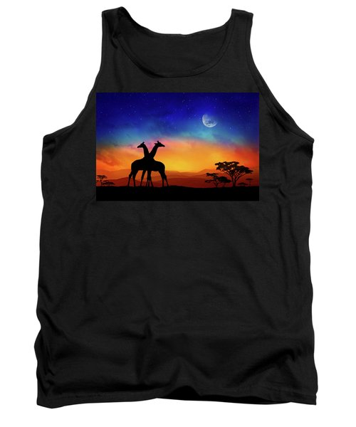 Giraffes Can Dance Tank Top