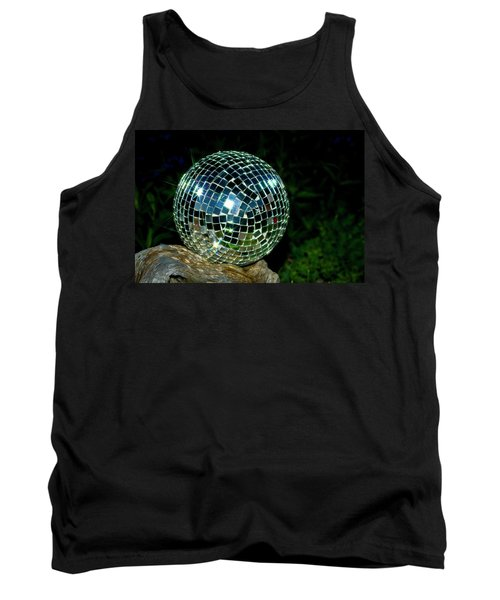 Glass On Wood Tank Top by Albert Seger