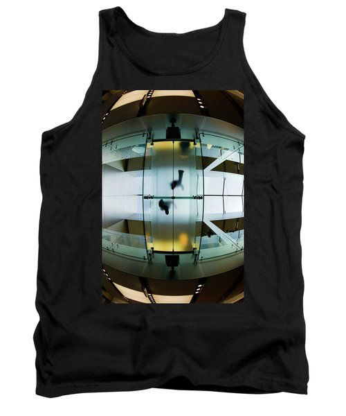 Glass Walkway Apple Store Stockton Street San Francisco Tank Top