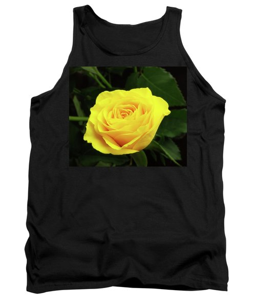 Glorious Yellow Rose Tank Top