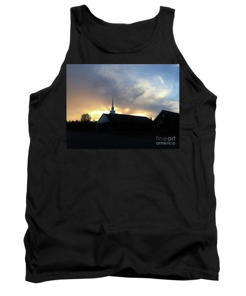 Glory To God Sunset Tank Top