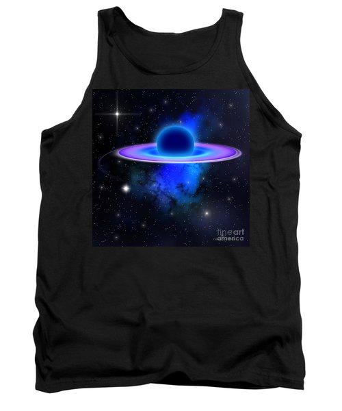 Glowing Black Hole  Tank Top
