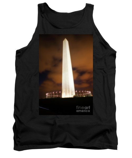 Glowing Monument Tank Top