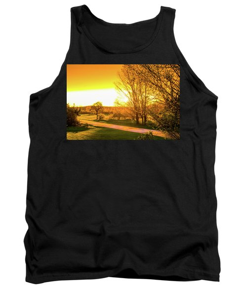 Glowing Sunset Tank Top