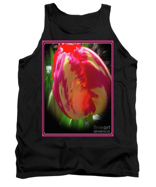 Glowing Tulip Tank Top by Ansel Price
