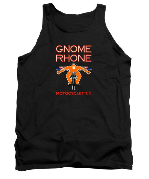 Gnome Rhone Motorcycles Tank Top by Mark Rogan