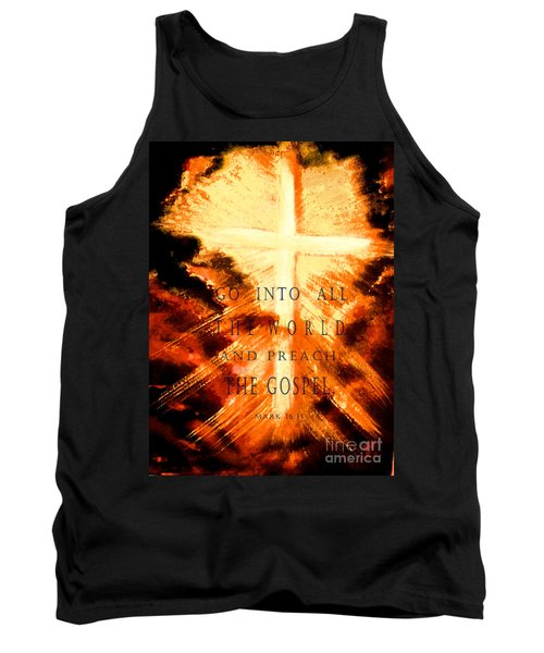 Go Into All The World Tank Top by Hazel Holland