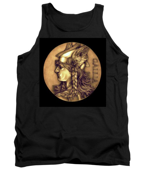 Goddess Of Gaul Tank Top by Fred Larucci