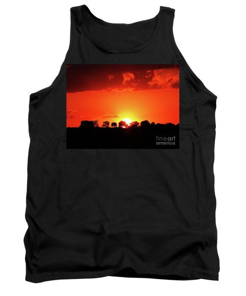 Tank Top featuring the photograph God's Gracful Sunset by J L Zarek