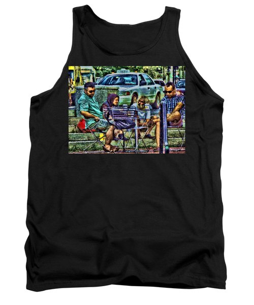 Going Places From Harvard Square Tank Top