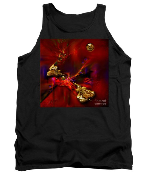 Gold Foundry Tank Top