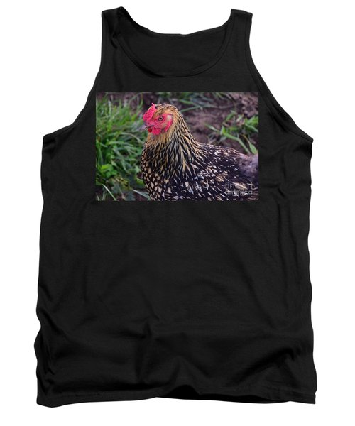 Gold Laced Wyandotte Tank Top