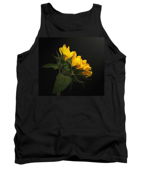 Tank Top featuring the photograph Golden Beauty by Judy Vincent