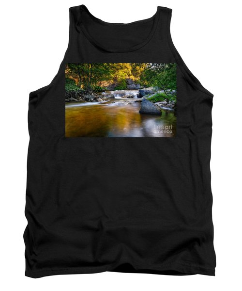 Golden Calm Tank Top