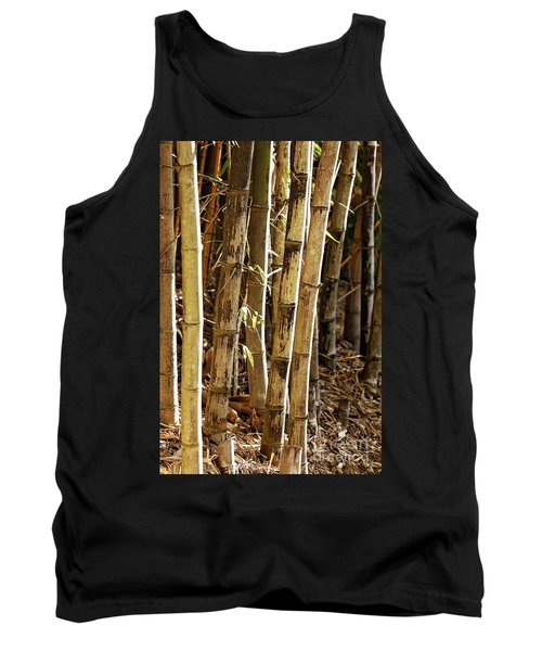 Tank Top featuring the photograph Golden Canes by Linda Lees