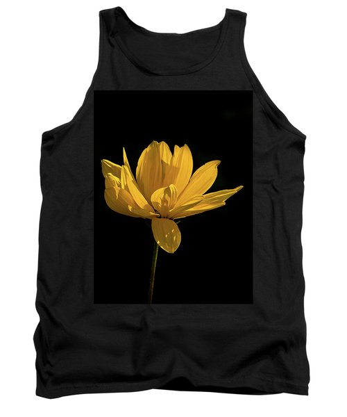 Golden Coreopsis Tank Top by Jacqi Elmslie