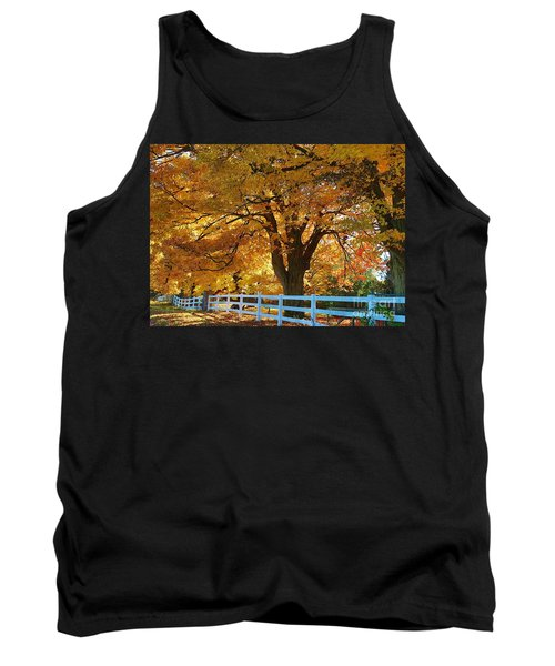 Tank Top featuring the photograph Golden Curtain by Robert Pearson