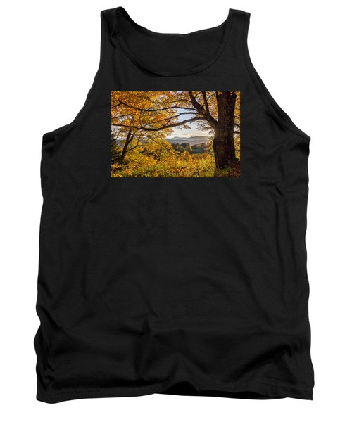 Vermont Framed In Gold Tank Top