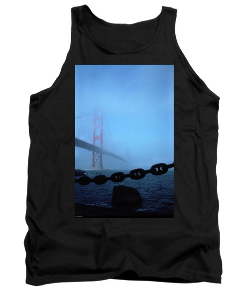 Golden Gate Bridge From Fort Point Tank Top