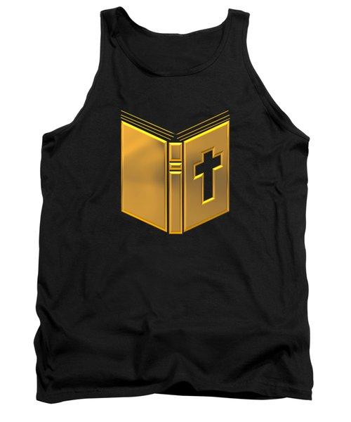 Golden Holy Bible Tank Top