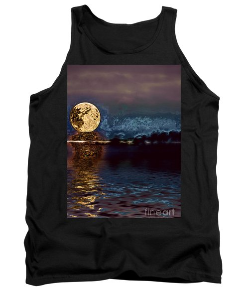Golden Moon Tank Top