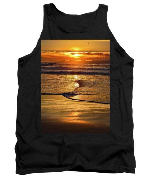 Golden Pacific Sunset Tank Top