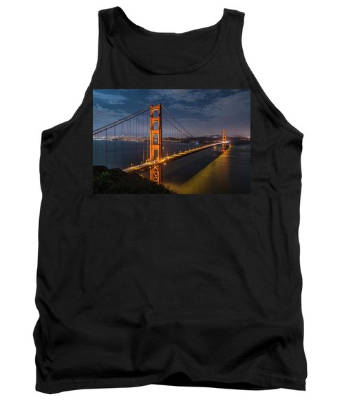 Golden Reflection Tank Top