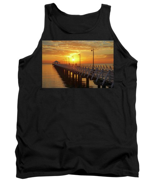 Golden Sunrise Down By The Bay Tank Top