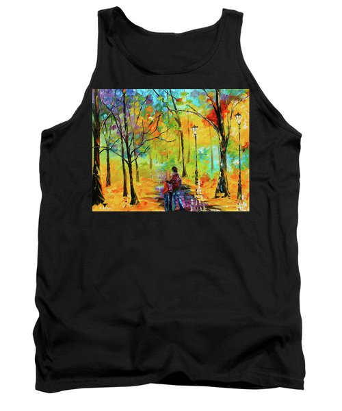 Golden Walk Tank Top