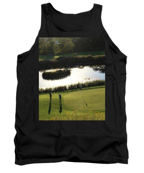 Golf - Puttering Around Tank Top