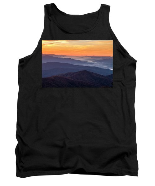 Good Morning Clingmans Dome In The Smokies Tank Top