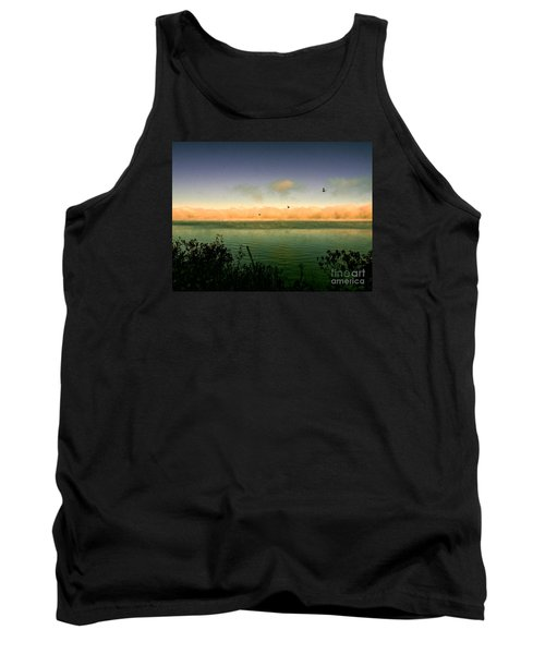 Tank Top featuring the photograph Good Morning Lake Winnisquam by Mim White