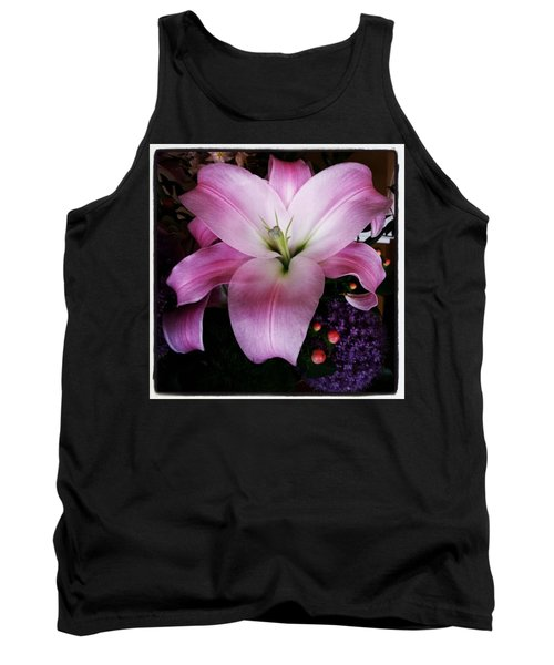 Tank Top featuring the photograph Gorgeous Flowers. Real. I Think They by Mr Photojimsf