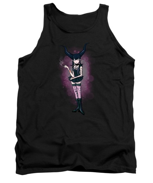 Gothic Moon Tank Top