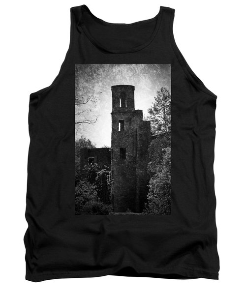 Gothic Tower At Blarney Castle Ireland Tank Top
