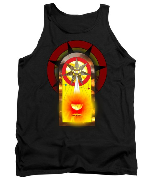 Grail Magic By Pierre Blanchard Tank Top
