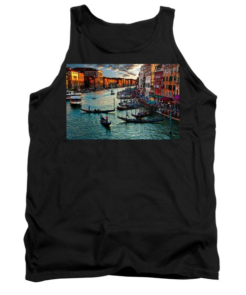 Grand Canal Sunset Tank Top