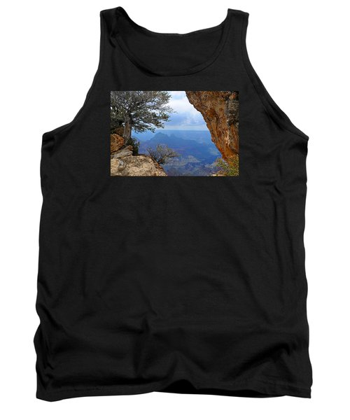 Grand Canyon North Rim Window In The Rock Tank Top