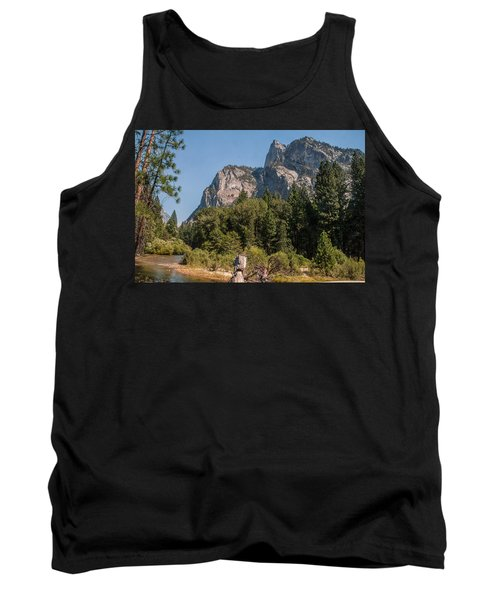 Grand Sentinel Zumalt Meadow Kings Canyon National Park Tank Top