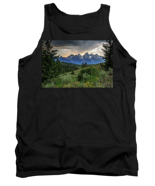 Tank Top featuring the photograph Grand Stormy Sunset by David Chandler