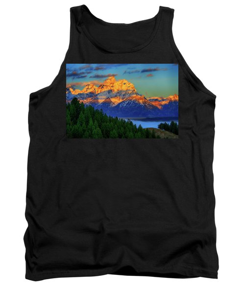 Grand Teton Alpenglow Tank Top
