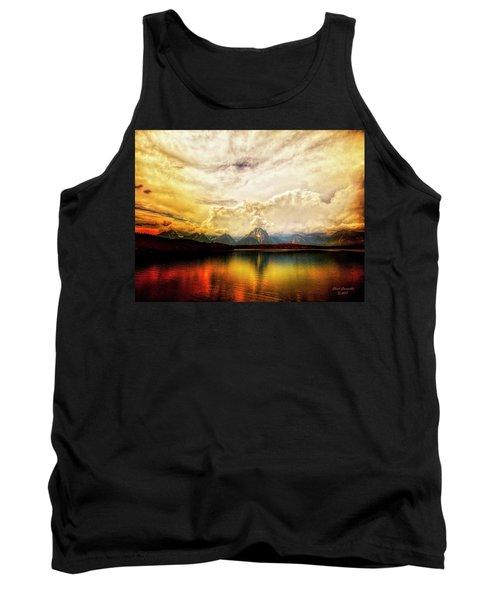 Grand Tetons - Jenny Lake No. 2 Tank Top