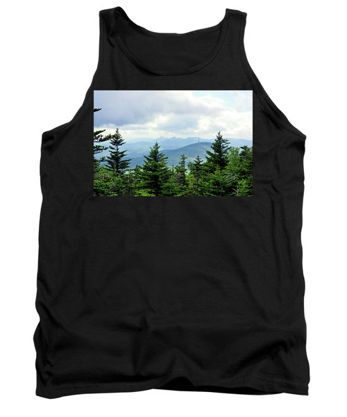Tank Top featuring the photograph Grandmother Mountain by Meta Gatschenberger