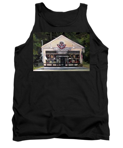 Granville Country Store Front View Tank Top