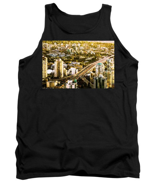 Granville Street Bridge Vancouver British Columbia Tank Top