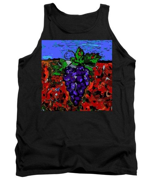 Grape Jazz Digital Tank Top