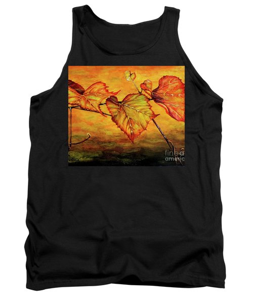 Tank Top featuring the painting Grape Vine by Judy Kirouac