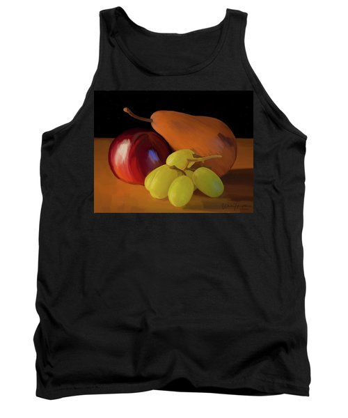 Grapes Plum And Pear 01 Tank Top by Wally Hampton
