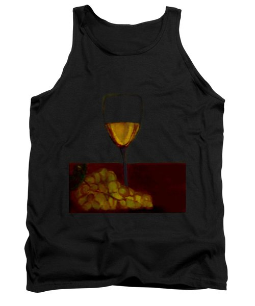 Grapes With Wine Tank Top